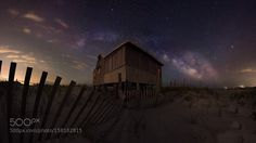 Shack  This image is an 18 picture panorama stitched together to capture the entire view.    The Milky Way rising over the Judge's Shack on Island Beach State Park.   Light to the North (on the left) are from Seaside Heights while the lights to the south are from boats fishermen and Long Beach Island.  Camera: NIKON D810 Focal Length: 15mm Shutter Speed: 13sec Aperture: f/4 ISO/Film: 4000  Image credit: http://ift.tt/1YilLcP Visit http://ift.tt/1qPHad3 and read how to see the #MilkyWay…
