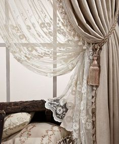 the moroccan curtains can add a wonderful touch to your house Luxury Curtains, Elegant Curtains, Shabby Chic Curtains, Beautiful Curtains, Living Room Decor Curtains, Home Curtains, Bedroom Decor, Moroccan Curtains, Curtain Styles