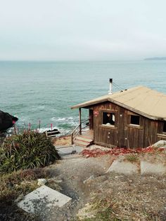 Steep Ravine Cabins and Campground in Mount Tamalpais, California | Steep Ravine Cabins    There's a little secret that lies just across the Golden Gate Bridge and they are...