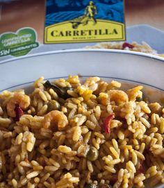 Paella marinera La Carretilla. El gusto por lo auténtico, una paella sabrosa, casera, en su punto. #arroz #paella #valencia #marinera #spanish #food #comidaespañola #comidaspreparadas #comidas #preparadas