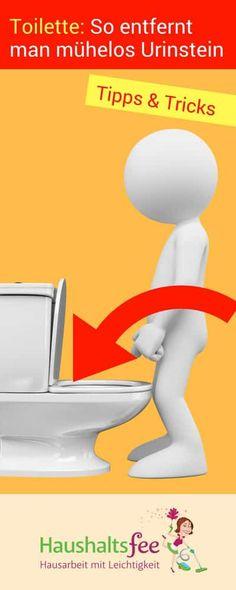 Toilette reinigen: Wie entfernt man Urinstein?   Haushaltsfee.org