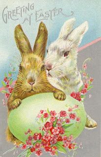 Vintage Easter card. printable. Love all vintage