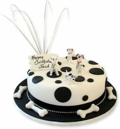 101 Dalmatian Dog Cake