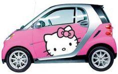 Hello Kitty Smart Car ... ummm