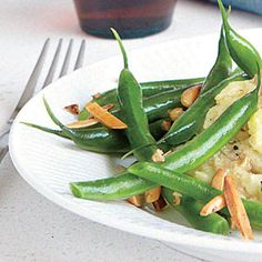 Almond Green Beans | CookingLight.com #vegetables #myplate