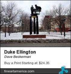 New York Photography, Photography For Sale, Duke Ellington, Nyc Photographers