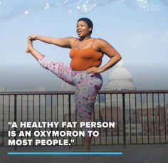 """Yoga Teacher Delivers the Final Word on Saying Plus-Size Women Are """"Unhealthy"""""""