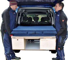 Zen Adventure Van Modifications - Bed