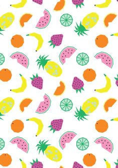 Emily Kiddy: Spring/Summer 2016 - Younger Girls Fashion - Perfect Pop Trend - Fruit Print