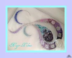 broderie d'art en ruban et perles - Nigar Hikmet
