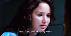 I feel your pain, Katniss.