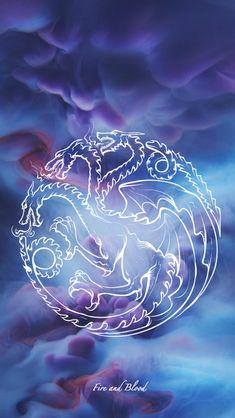 Game of Thrones - wallpaper - sigil - Targaryen by EmmiMania