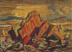 """Now be honest, how many of you are familiar with A. Jackson's """"Port Radium"""" collection? Jackson, a founding member of the Group of Seven, the assem. Canadian Painters, Canadian Artists, Jackson, Emily Carr Paintings, Group Of Seven Paintings, Tom Thomson Paintings, Painted Hills, Modern Artists, Wassily Kandinsky"""