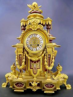 French Bronze & Sevres Porcelain Clock This represents that they think it is time that Dave Beckmann & I be married and the chosen date is saved! Thank you! We are so happy!