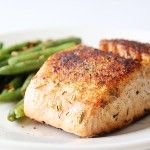Food On the Table: Baked Herbed Salmon