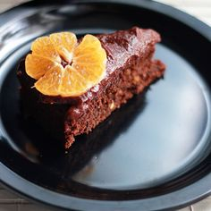 Healthy Chocolate Orange Cake with Rich Chocolate Frosting