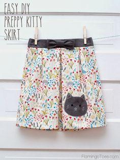 Free DIY Fun Skirt Tutorial