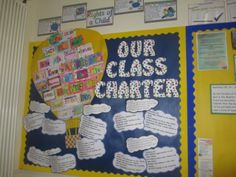 rights respecting schools display Primary Classroom Displays, School Displays, Classroom Walls, Classroom Ideas, First Day Of School Activities, School Resources, Class Charter Display Ks2, Classroom Charter, Rights Respecting Schools
