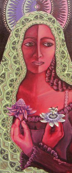 La Virgen de la Confusión(confusion)-CourtneyArte