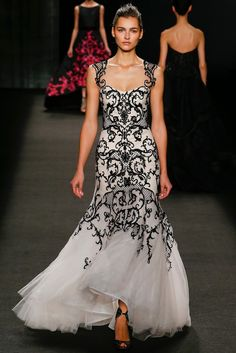 Monique Lhuillier Fall 2014 Ready-to-Wear