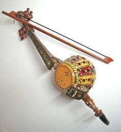 Silk Road Kamancheh Wooden Antique Wooden by JessPlusCoutureSwim,