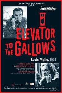 "My review of ""Elevator to the Gallows."""