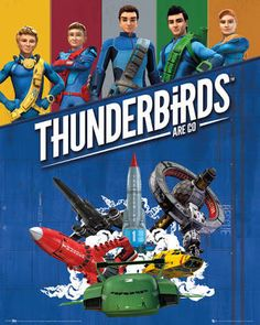 Thunderbirds Are Go Mini Poster