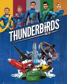 Thunderbirds Are Go Mini Poster