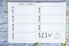 Weekly Layout! In 321 Go! Section, I could put notes, quotes, or little designs.