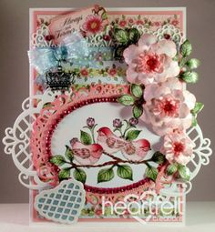 Heartfelt Creations | Arianna Blooms Fluffy Birdies