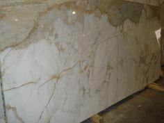 Calcutta gold marble slab