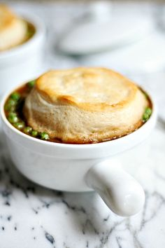 Pillsbury Biscuit Topped Beef and Guinness Pot Pie | heathersfrenchpress.com