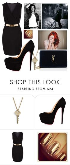 """Unbenannt #192"" by mariiia-hale on Polyvore featuring Mode, The Giving Keys und Yves Saint Laurent"