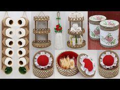 Jute Crafts, Diy Crafts, Sisal, Amazing Spaces, Space Saving, The Creator, Organization, Holiday Decor, Craft Ideas