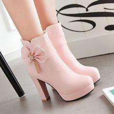 Zapatos de Novia Color Rosa