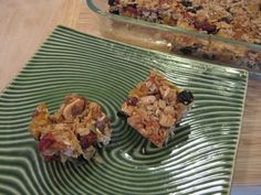 Chakra Bars -- using 7 colors of the chakras with nuts and dried fruits Find recipe on:  www.chakrasecrets.net