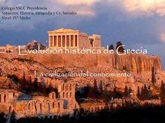 Evolución histórica de Grecia