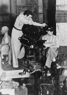 CITIZEN KANE (1941) - Orson Welles directs a scene - RKO-Radio - Publicity Still.