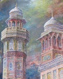 works by water colour artist Muhammad Shafiq - Google Search