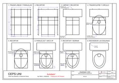 Practica de Clase N° 01 Autocad, Interesting Drawings, Architecture, Anna, Construction, Exercise, Education, School, Outfits
