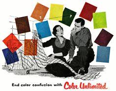 End Color Confusion! 1952. Repinned by Secret Design Studio, Melbourne. www.secretdesignstudio.com