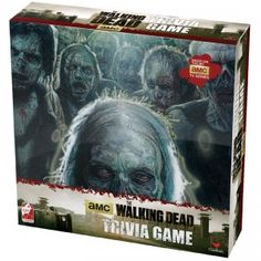 The Walking Dead Trivia Game comes with hundreds of trivia cards that test fan's knowledge of the popular series. 12+