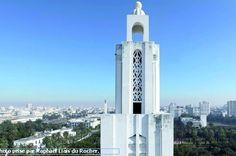 Exposition photo «Rétro-futurisme» : Raphaël Liais du Rocher rend hommage au Sacré-Cœur #Casablanca