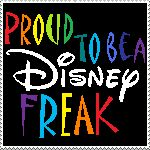 Proud to be a Disney freak ... FREAK OUT!!!  Yeah!!!  LE FREAK  - so CHIC!  Perfect music track for EURODISNEY park!