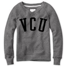 Red Shirt Womens VNeck Sweatshirt - $37.98 #VCU Virginia Commonwealth University