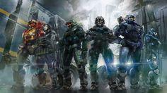 Spartan II/III Noble Team