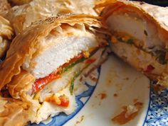 Filo recipes chicken