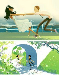 Pascal Campion. #illustrations