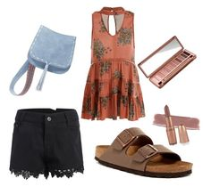 """""""summer day"""" by arkatonic on Polyvore featuring Birkenstock, Steve Madden and Urban Decay"""