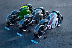 'Tron' designer creates a real-world superbike | The Verge